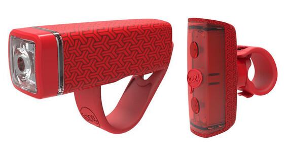 Knog POP Duo Beleuchtungsset Twinpack red